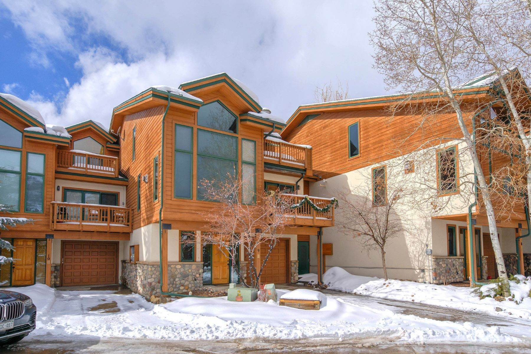 townhouses for Sale at Coveted Location At Evergreens 2533 Evergreen Lane Unit #9 Steamboat Springs, Colorado 80487 United States