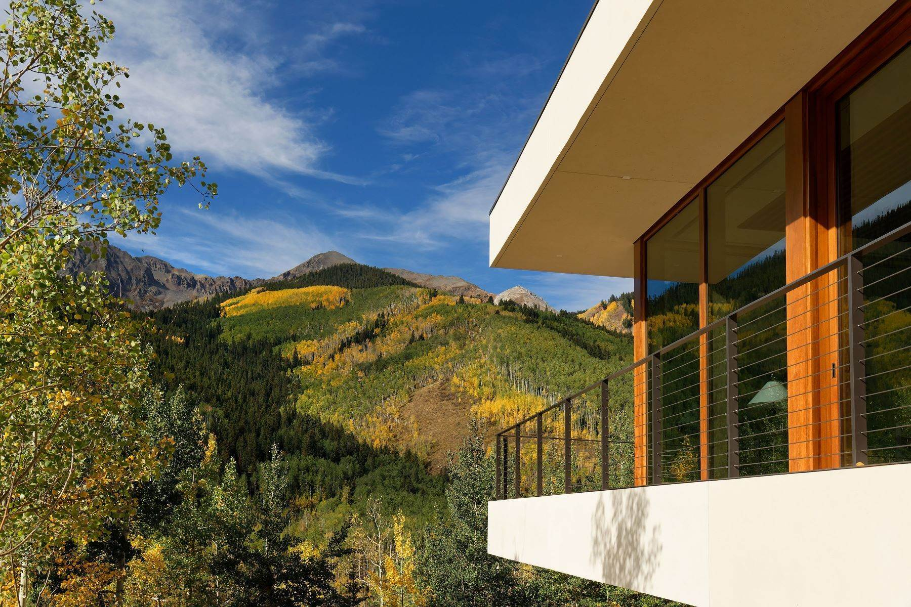 10. Single Family Homes for Sale at Exquisite Modern Sanctuary 8720/8716 Castle Creek Road Aspen, Colorado 81611 United States