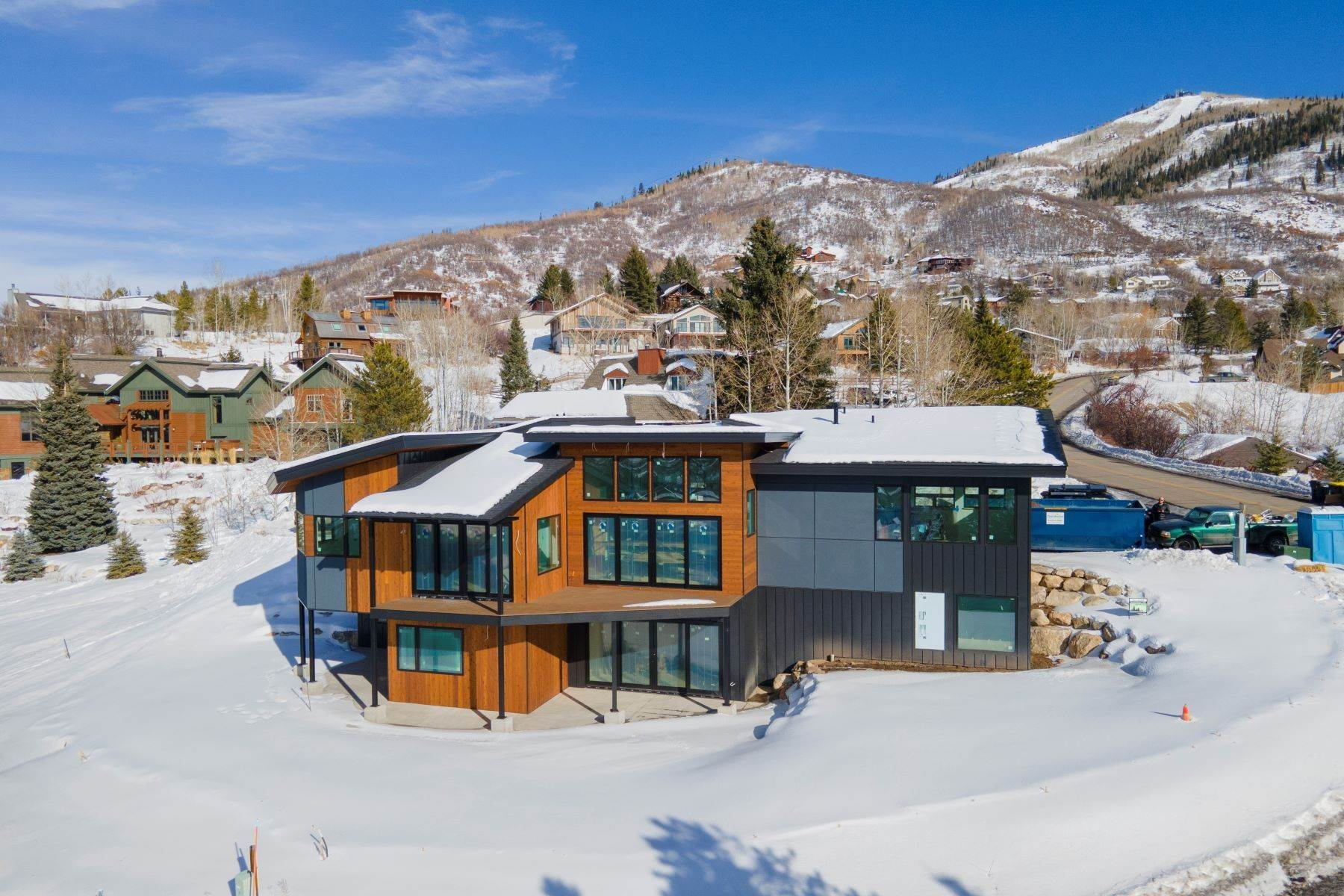 Single Family Homes at Stunning Mountain Modern Single Family Home On The Mountain 2967 Alpenglow Way Steamboat Springs, Colorado 80487 United States