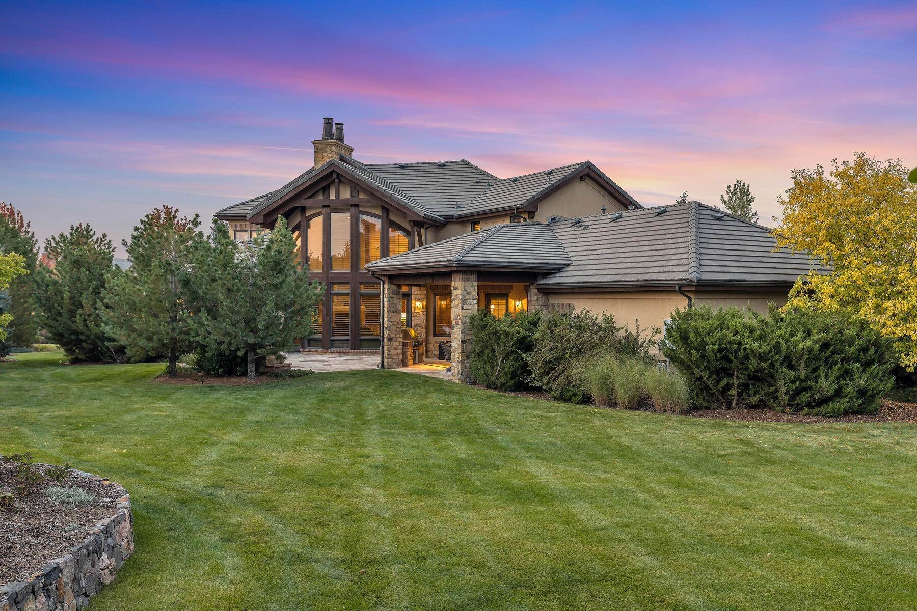 Single Family Homes for Sale at Custom Estate on a Park-like Setting 4100 Preserve Parkway N Greenwood Village, Colorado 80121 United States