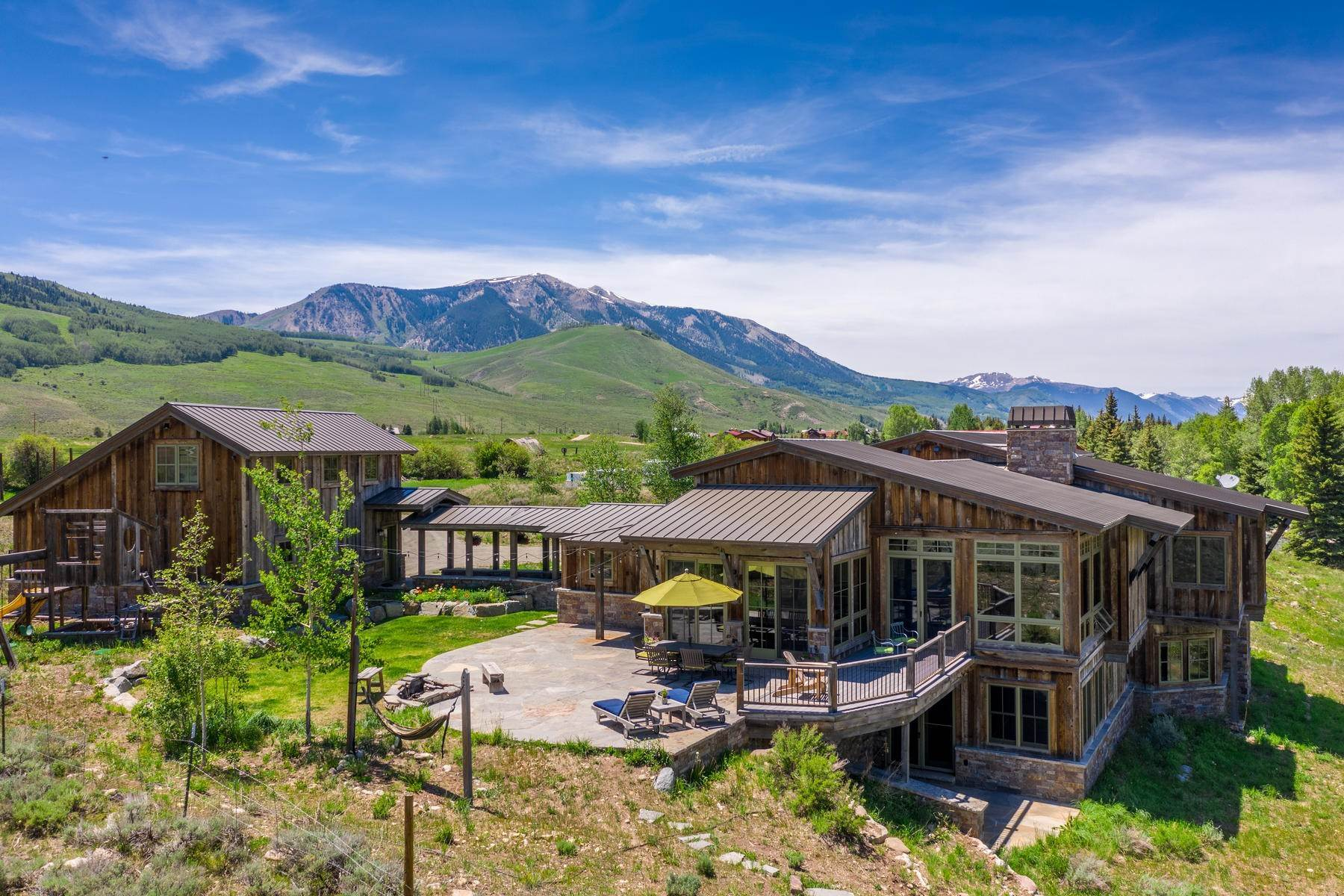 Single Family Homes for Sale at River Estate Overlooking the East River 82 County Road 740 Crested Butte, Colorado 81224 United States