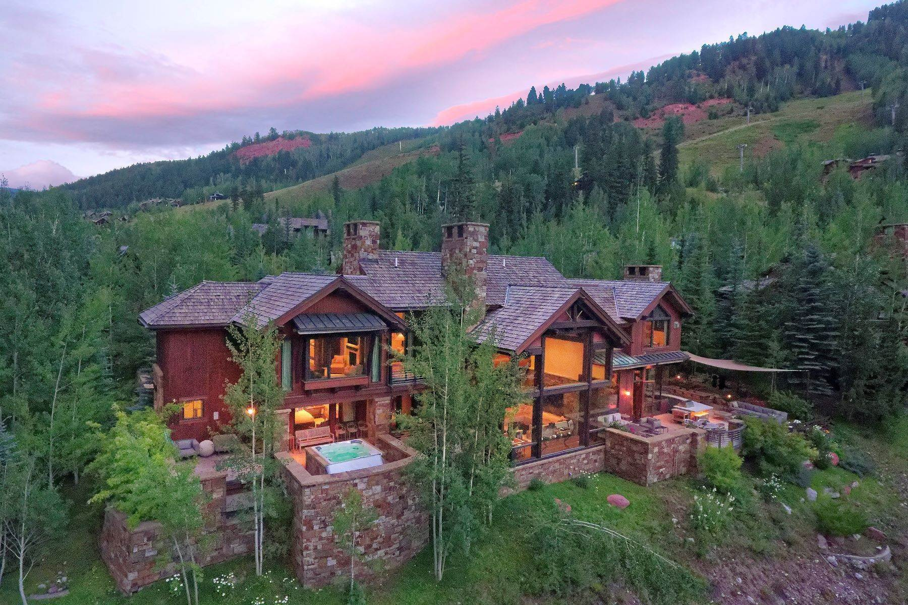 Single Family Homes 为 销售 在 In the Heart of Aspen Highlands 105 Exhibition Lane 阿斯彭, 科罗拉多州 81611 美国