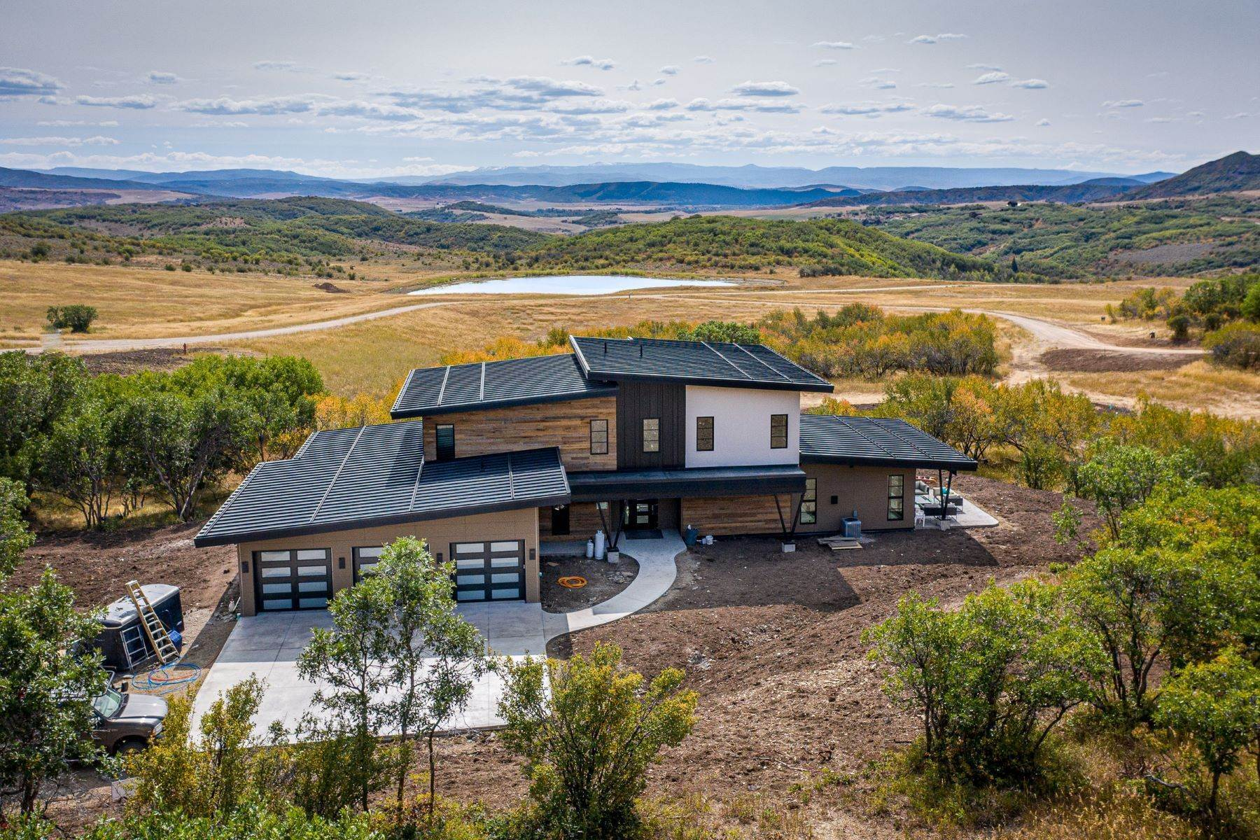 Single Family Homes for Sale at Mountain Modern with Acreage 45233 Four Seasons Way Steamboat Springs, Colorado 80487 United States