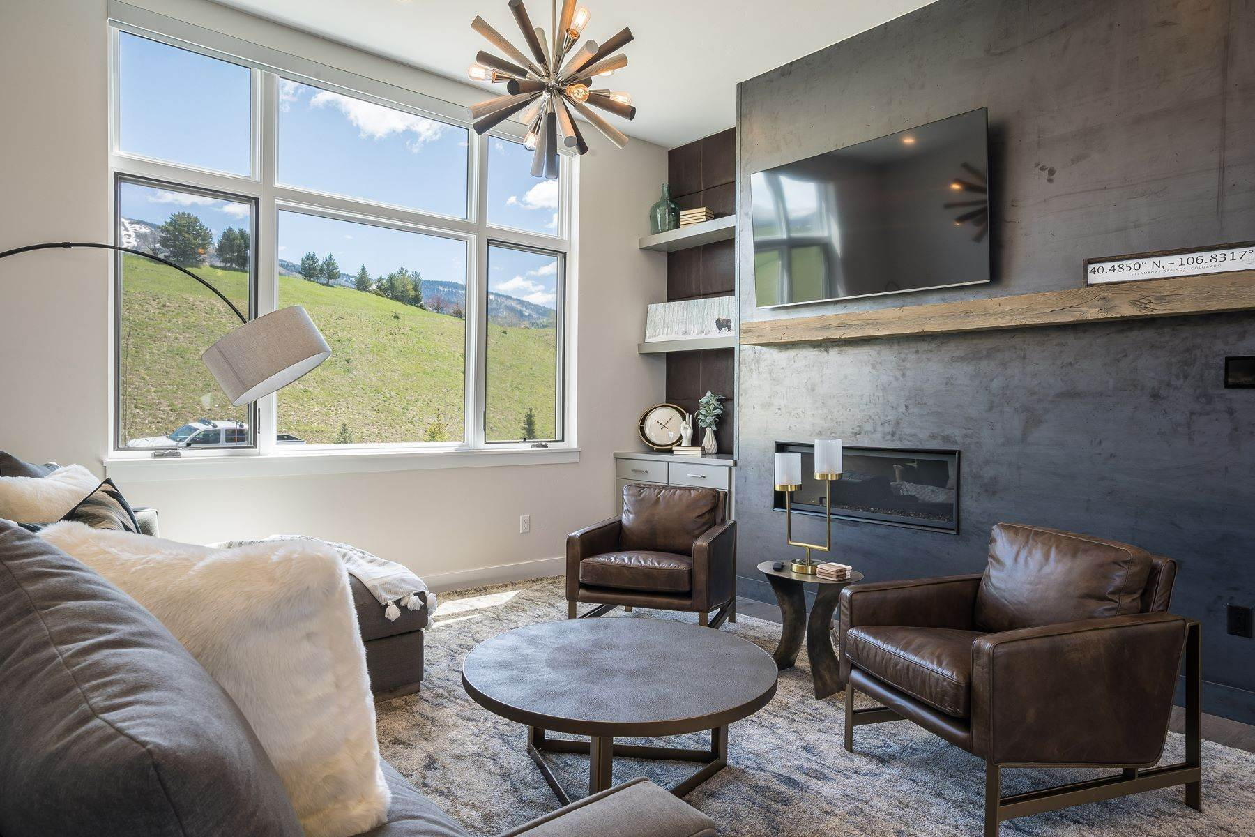 Single Family Homes for Sale at Flat Tops at Wildhorse Meadows 1390 Bangtail Way Steamboat Springs, Colorado 80487 United States
