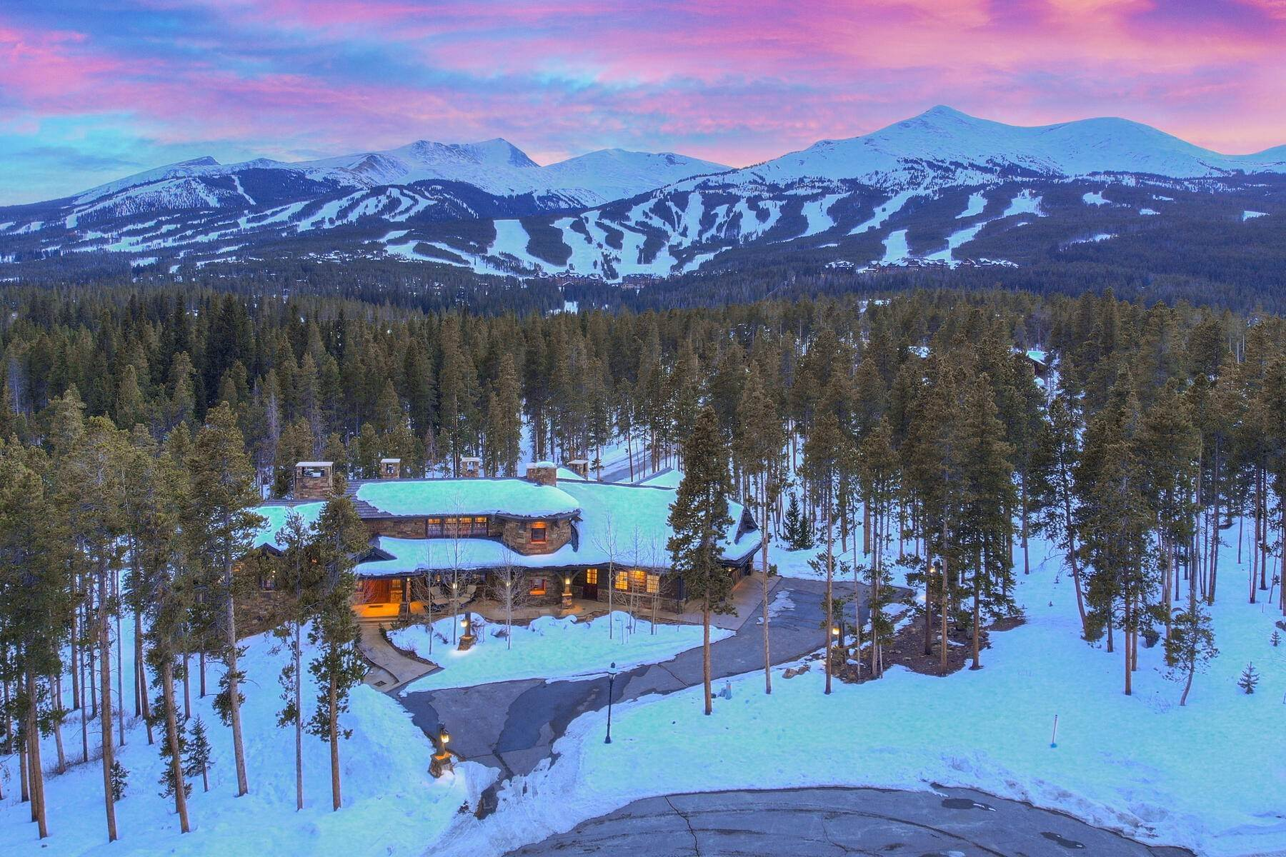 Single Family Homes for Sale at A true family legacy home. 33 Iron Mask Road Breckenridge, Colorado 80424 United States