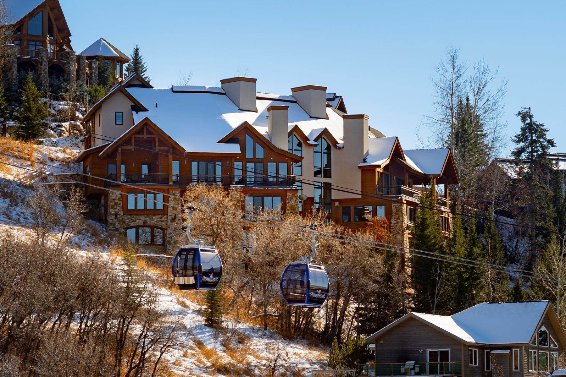 Single Family Homes pour l Vente à Luxury Mountain Retreat Falconhead North 2605 Ski Trail Lane Steamboat Springs, Colorado 80587 États-Unis