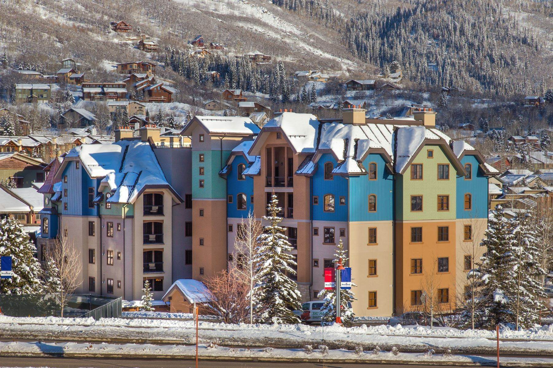 Condominiums for Sale at Luxury Highmark 2525 Village Drive Unit #5E Steamboat Springs, Colorado 80487 United States