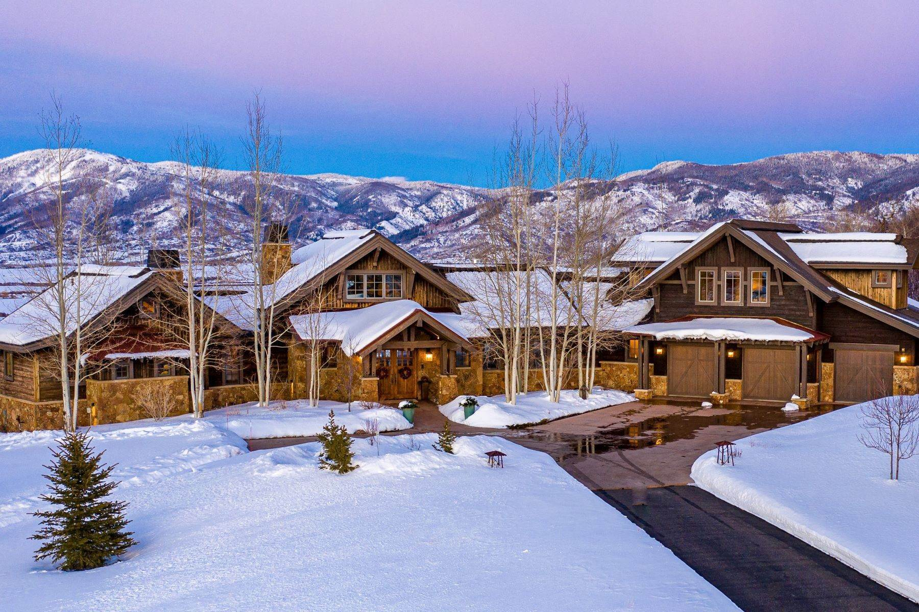 Single Family Homes for Sale at Sidney Peak View Home 30650 Marshall Ridge Steamboat Springs, Colorado 80487 United States