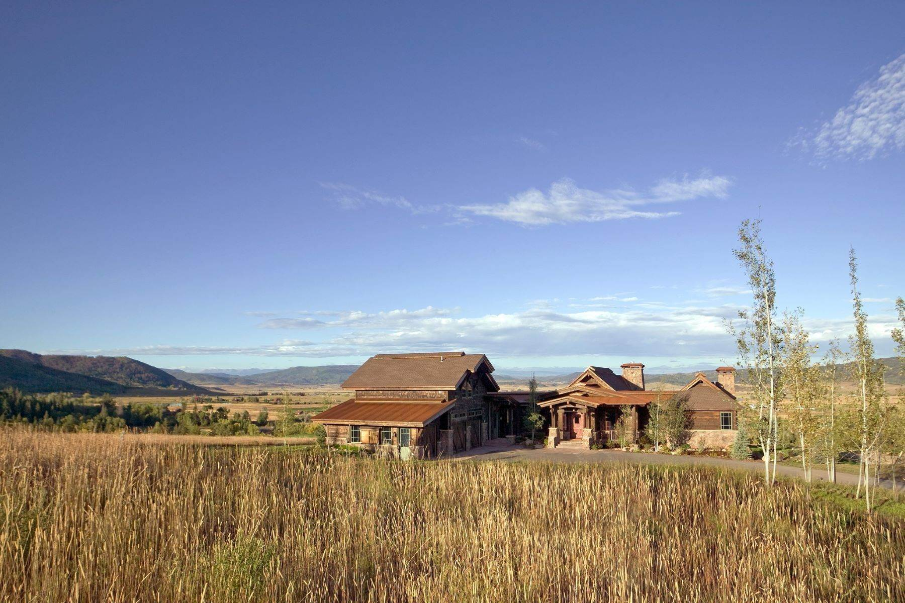 43. Single Family Homes for Sale at Beautiful Home at Catamount Ranch 33640 Catamount Drive Steamboat Springs, Colorado 80487 United States