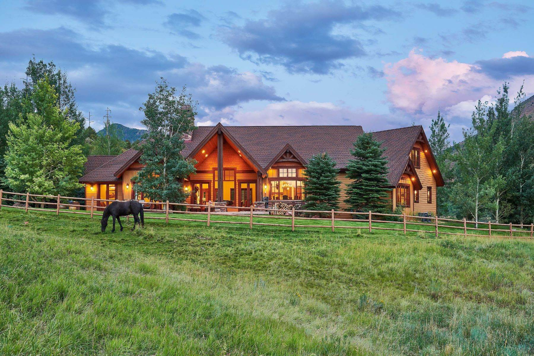 Farm and Ranch Properties for Sale at N. River Road Ranch 102 N. River Road Snowmass, Colorado 81654 United States