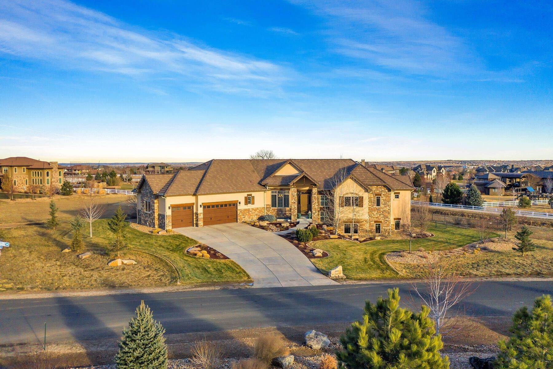 Single Family Homes for Sale at 2999 High Prairie, Broomfield, Co, 80023 2999 High Prairie Way Broomfield, Colorado 80023 United States