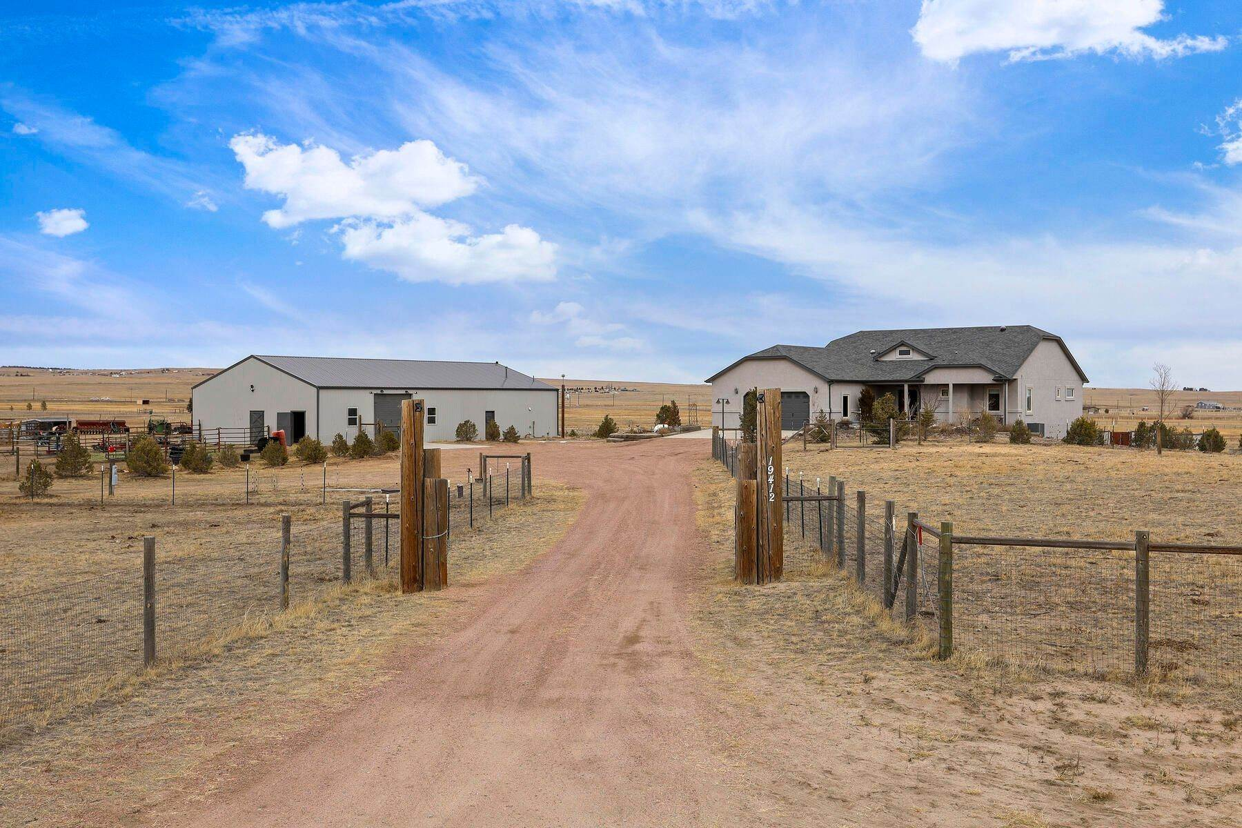 Single Family Homes por un Venta en 19412 Elliott View, Peyton, Co, 80831 19412 Elliott View Peyton, Colorado 80831 Estados Unidos