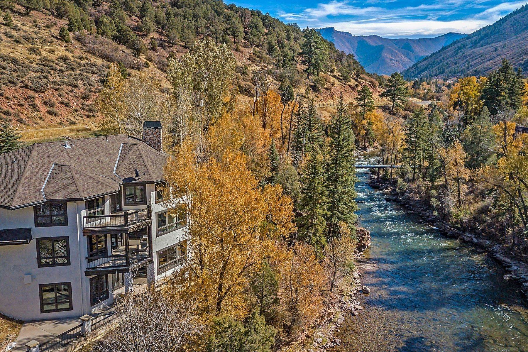 Single Family Homes for Sale at 50 River, Snowmass, Co, 81654 50 N River Road Snowmass, Colorado 81654 United States
