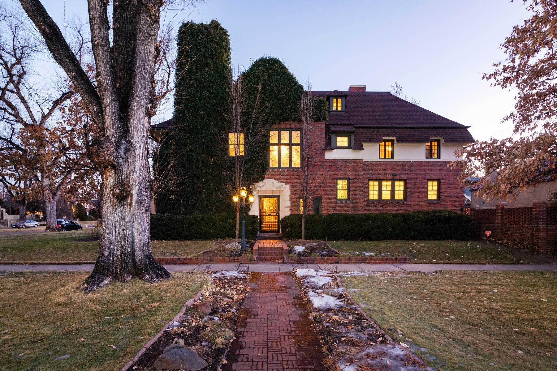 Single Family Homes for Sale at Historic Country Club Estate! 1640 E 3rd Avenue Denver, Colorado 80218 United States
